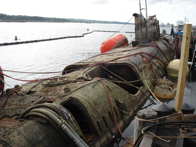 утонувшие подводные лодки мира