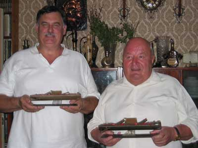 Боб Элби и Александр Иванович. Фото на память